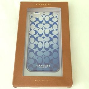 Coach iPhone 5/5s hard cell phone case